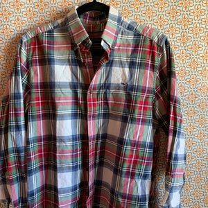Vineyard Vines Plaid Buttonup